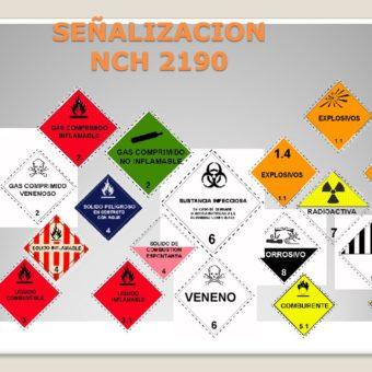 La Norma Chilena Nch. 2190. Los distintivos de Seguridad