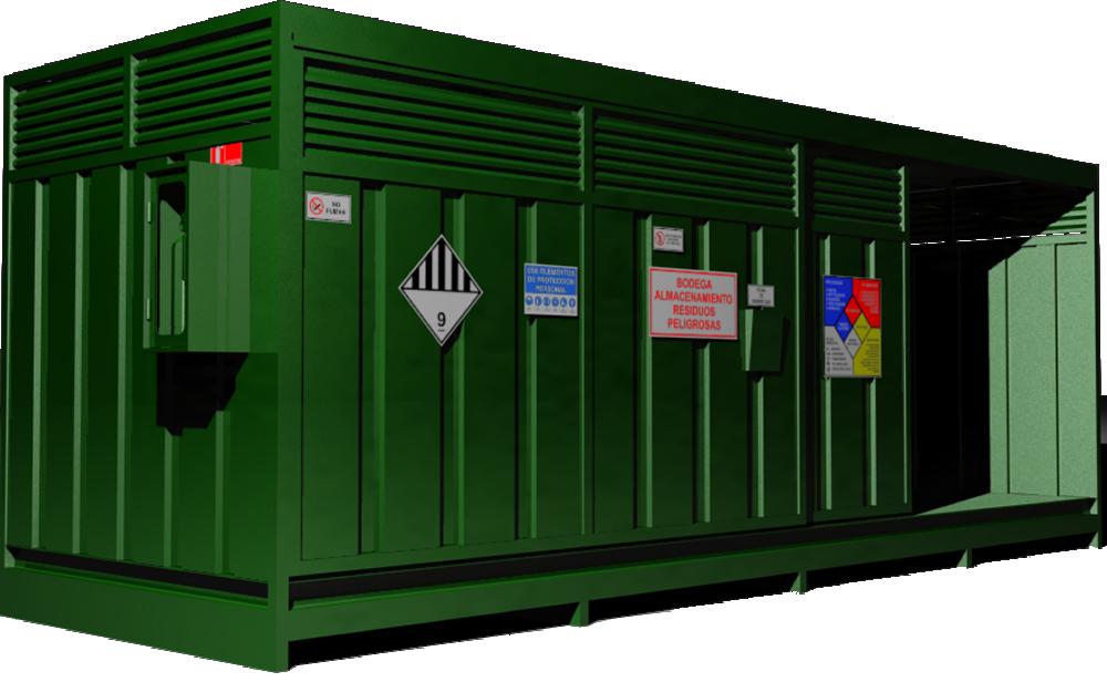 Modelo SERMA para Bodega Residuos Peligrosos DS 148
